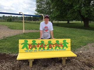 Buddy Benches - Alex reed